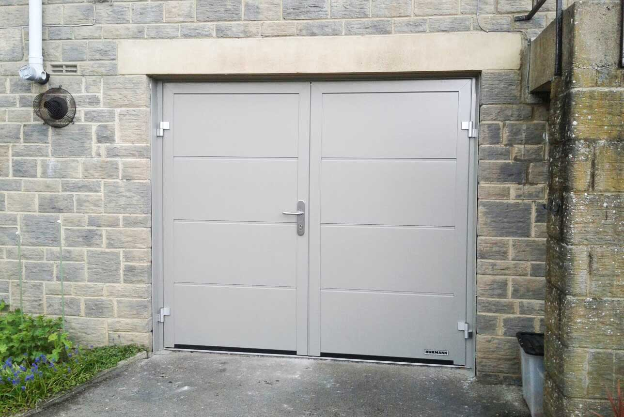 Side Hinged Garage Doors West Yorkshire