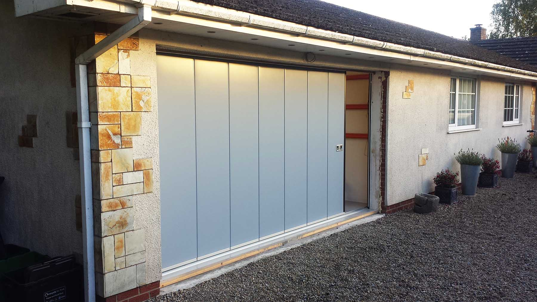 Hormann Side Sliding Garage Doors
