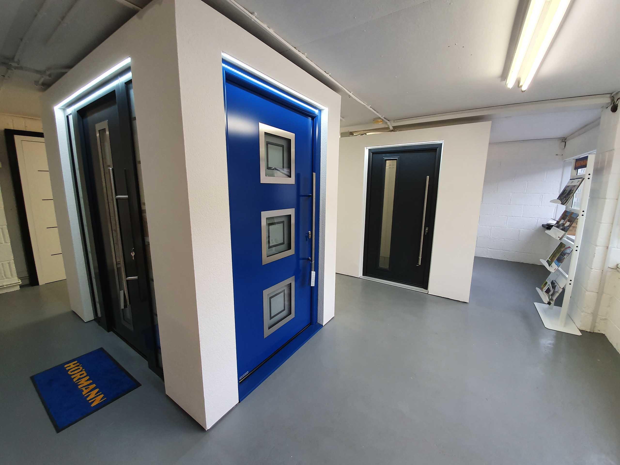 Front Doors Showroom