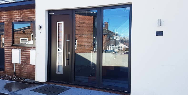 Hormann Steel Front Doors