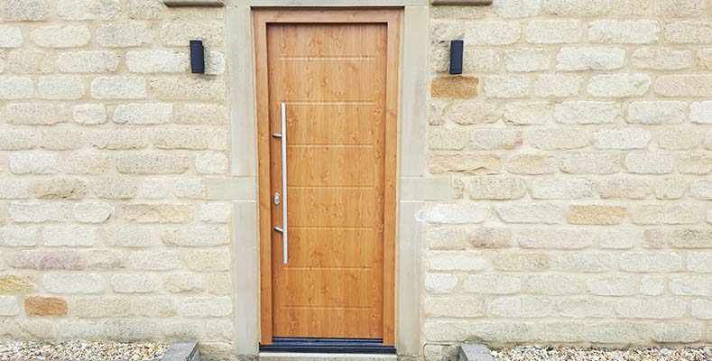 Hormann Steel Front Doors Decograin