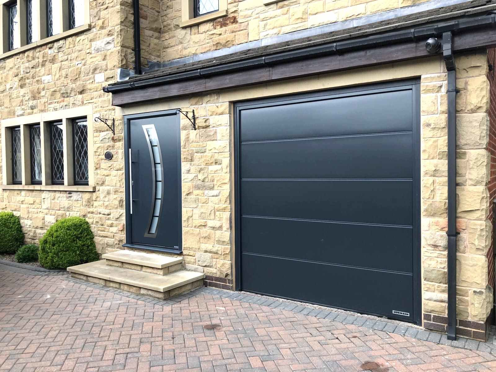 Matching Front and Garage Door Leeds