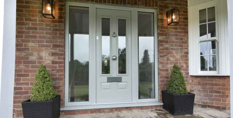 Solidor Composite Front Door