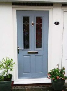 Hormann ThermoComp Front Door