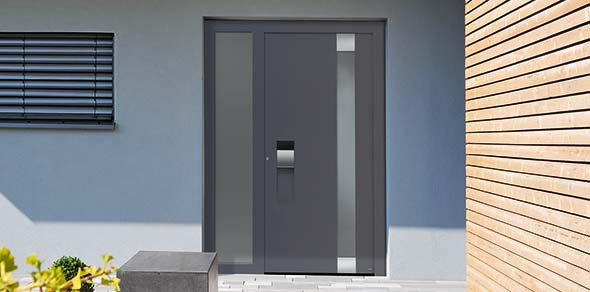 Hormann ThermoCarbon Aluminium Front Doors