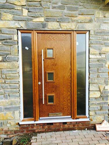 Hormann ThermoComp Composite Entrancet Door