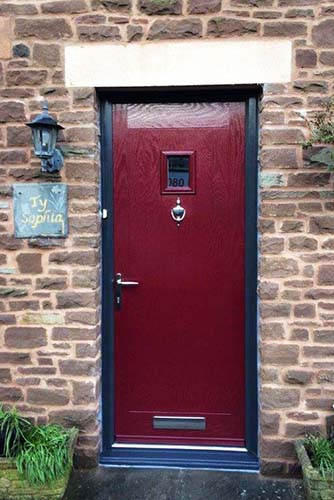 Hormann ThermoComp Entrance Door