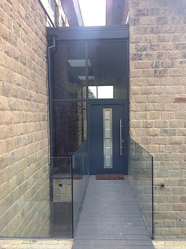 Hormann Thermo46 Steel Front Entrance Doors Image