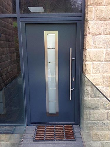 Hormann Thermo46 Steel Front Doors Anthracite Grey Image