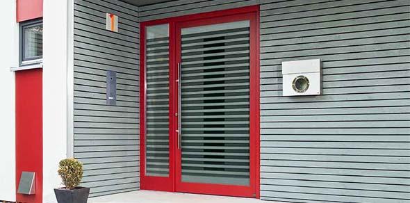 Hormann TopComfort Aluminium Front Doors