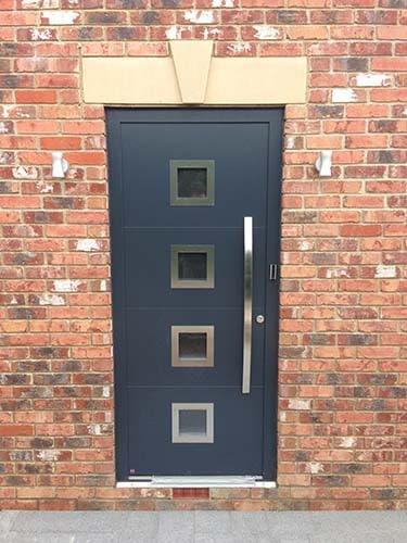Hormann Aluminium Front Doors