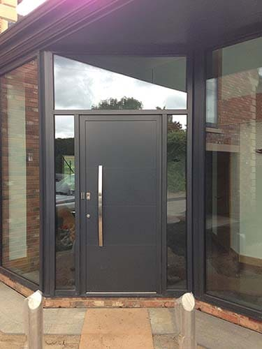 Hormann Thermosafe Aluminium Front Entrance Door