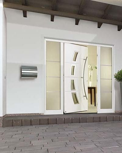 Hormann ThermoSafe Aluminium Front Doors