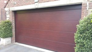 Hormann Rosewood Sectional Garage Doors
