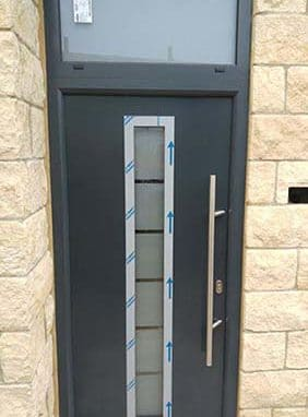 Hormann Steel Thermo Front Door