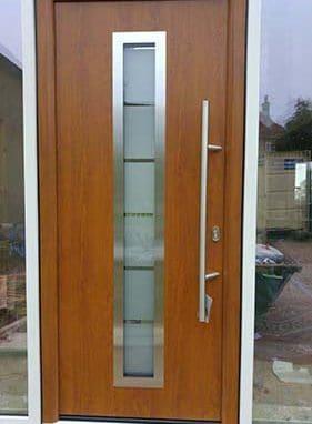 Hormann Thermo Steel Front Door Decograin