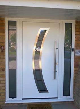 Hormann Thermo Steel Entrance Door White