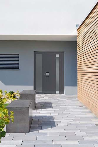 Hormann ThermoCarbon Front Entrance Door