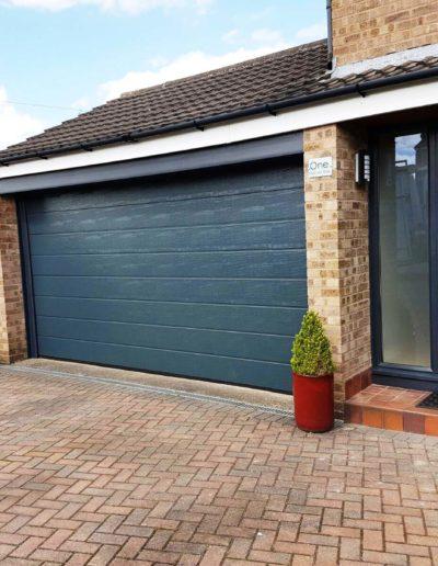 Composite Front Door Anthracite Grey Harrogate