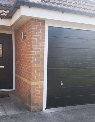 Truedor Composite Front Door in Black