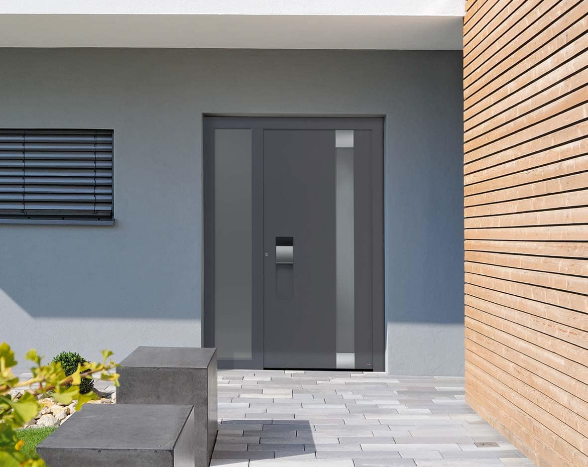 ThermoCarbon Aluminium Entrance Doors