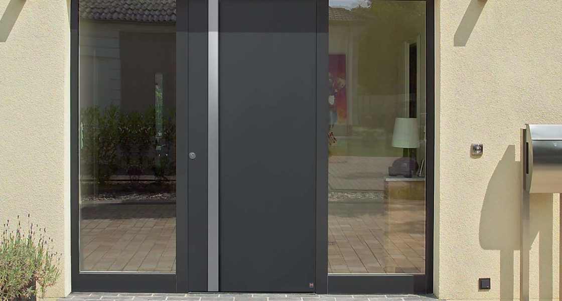 Hormann ThermoCarbon Entrance Door