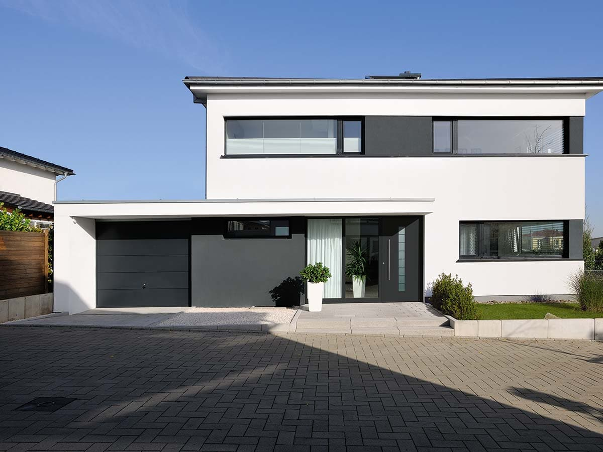 Hormann Aluminium Thermosafe Front Doors