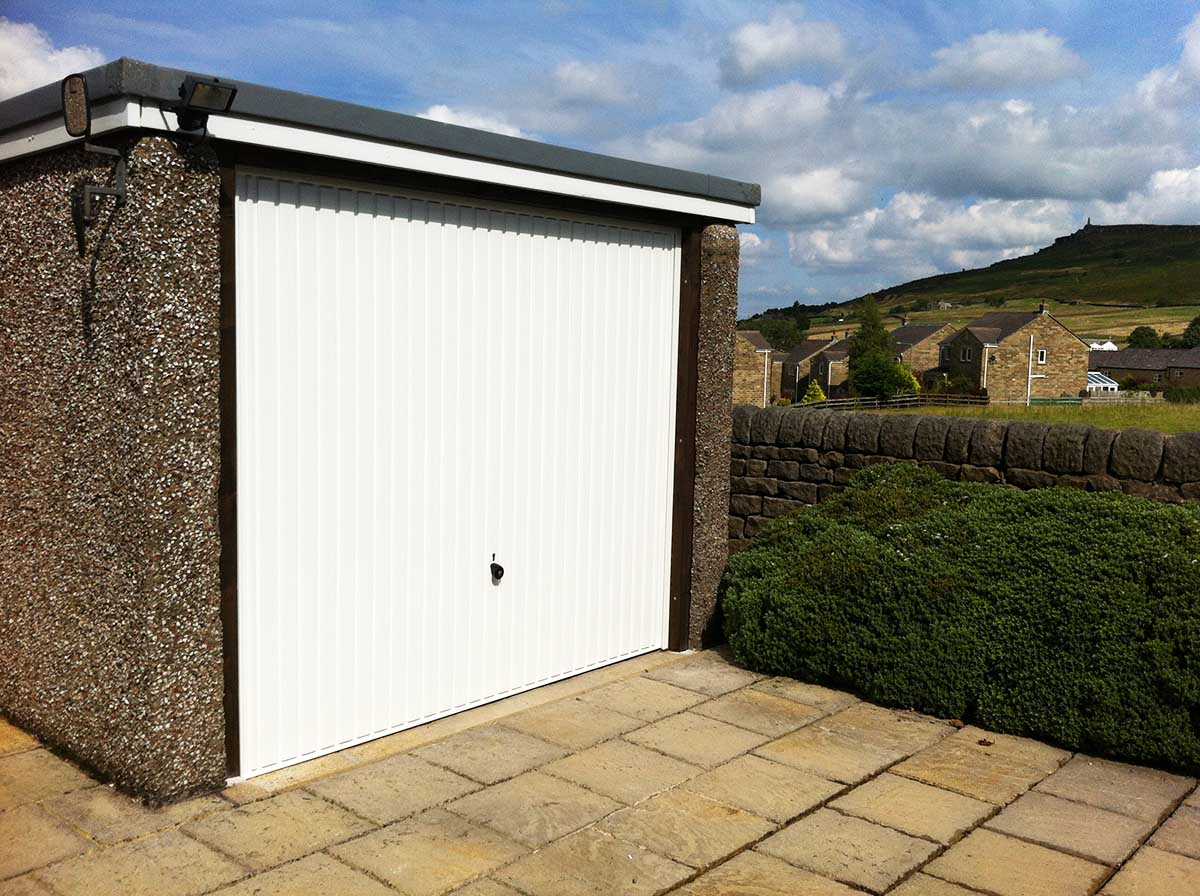 Hormann Up and Over Garage Door West Yorkshire